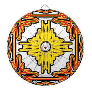 Art Nouveau Burst Dartboards