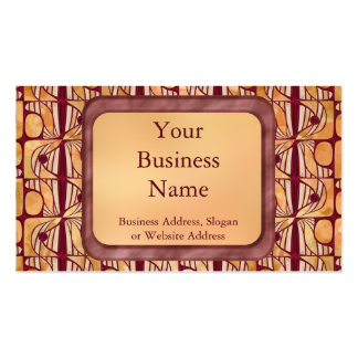 Art Nouveau Double-Sided Standard Business Cards (Pack Of 100)