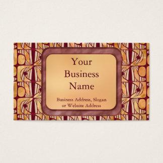 Art Nouveau Business Card