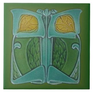 Art Nouveau c 1900 Repro Cleveland Majolica Tile