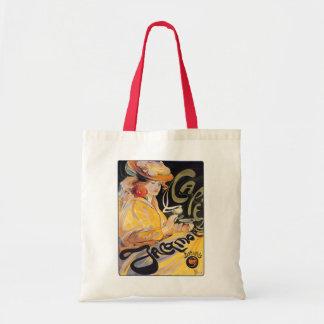 Art Nouveau Café Budget Tote Bag