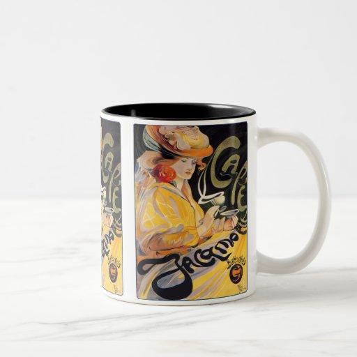 Art Nouveau Café Coffee Mug
