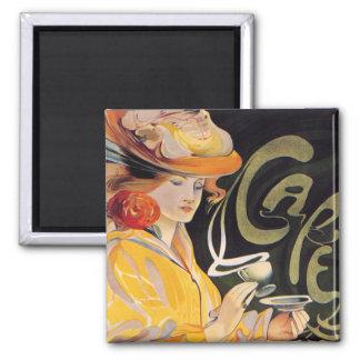 Art Nouveau Café Magnet