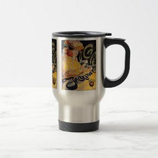 Art Nouveau Café Mugs