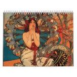 Art Nouveau Calendar