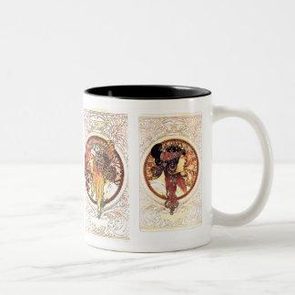 Art Nouveau Cameo Women Mug