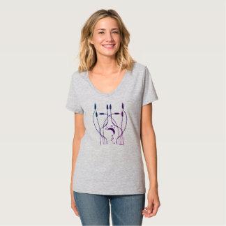 Art Nouveau Cattails T-Shirt