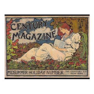 Art Nouveau - Century Magazine Postcard