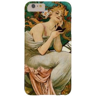 Art Nouveau Champagne Calendar Art Barely There iPhone 6 Plus Case
