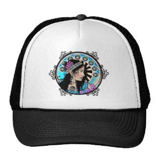 Art Nouveau Circle Painting Samaritan Woman Trucker Hat