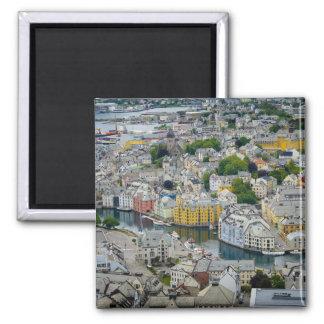 Art Nouveau city Alesund, Norway magnet