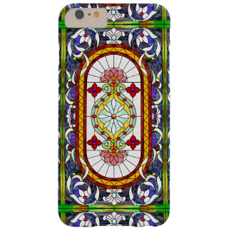 Art Nouveau Colorful Tiffany Stained Glass Window Barely There iPhone 6 Plus Case