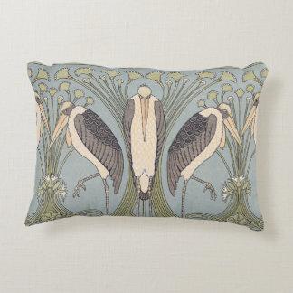 Art Nouveau Crane Pillow
