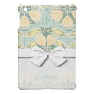 art nouveau dainty vintage floral pern iPad mini covers