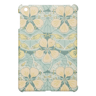 art nouveau dainty vintage floral pern cover for the iPad mini