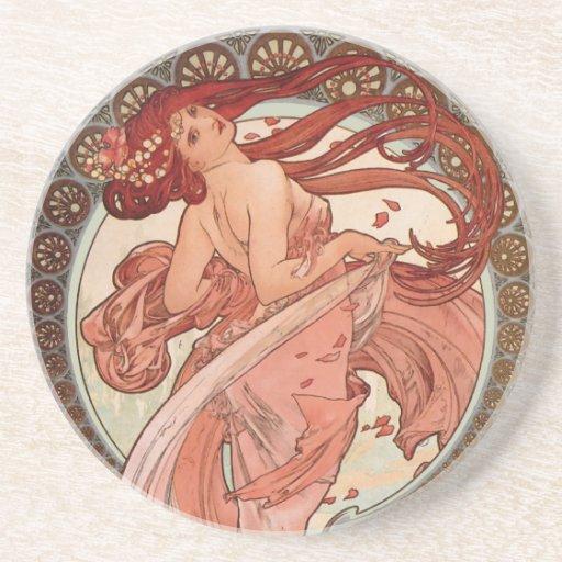 Art Nouveau - Dance Coasters