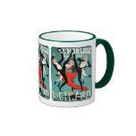 Art Nouveau Dance Image by Jules Cheret Coffee Mug