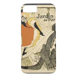 Art Nouveau Dancer Jane Avril, Toulouse Lautrec iPhone 8/7 Case