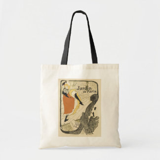 Art Nouveau Dancer Jane Avril, Toulouse Lautrec Tote Bag