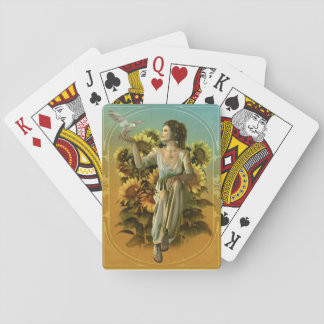 Art Nouveau Daytime Playing Cards