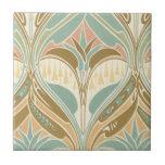 art nouveau decorative bliss pattern tiles