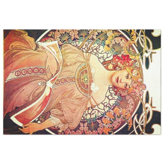 Art Nouveau Decoupage Paper