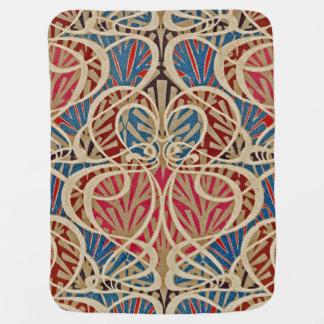 Art Nouveau Design #10 at Emporio Moffa Baby Blanket