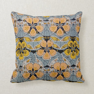 Art Nouveau Design #10 @ VictoriaShaylee Throw Pillow
