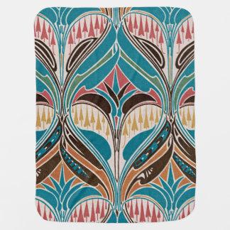Art Nouveau Design #11 at Emporio Moffa Stroller Blanket