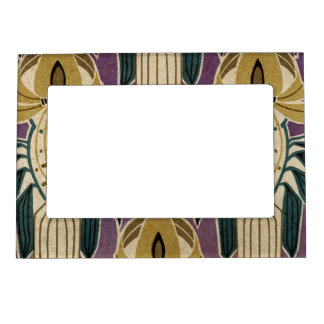Art Nouveau Design #1 @ VictoriaShaylee Magnetic Picture Frame