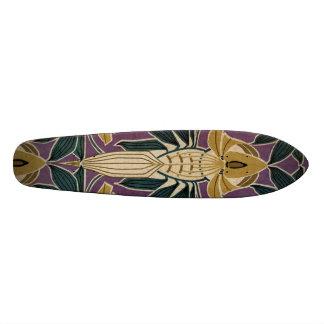 Art Nouveau Design #1 @ VictoriaShaylee Skateboard