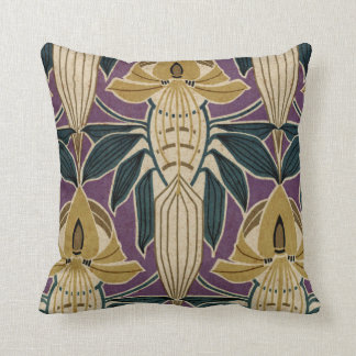 Art Nouveau Design #1 @ VictoriaShaylee Throw Pillow