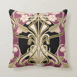 Art Nouveau Design #2 Throw Pillow