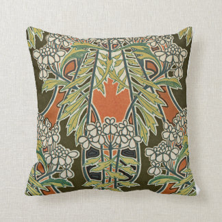 Art Nouveau Design #3 @ VictoriaShaylee Throw Pillow
