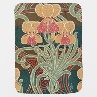 Art Nouveau Design #4 at Emporio Moffa Baby Blanket