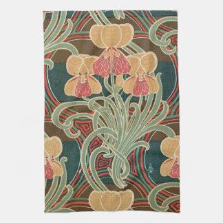 Art Nouveau Design #4 at Emporio Moffa Kitchen Towel