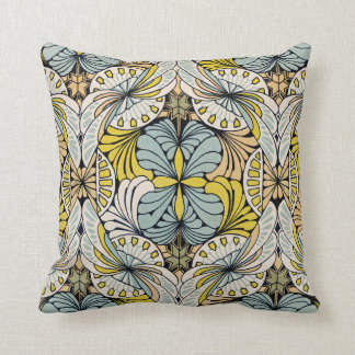 Art Nouveau Design #4 @ VictoriaShaylee Throw Pillow