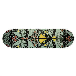 Art Nouveau Design #5 @ VictoriaShaylee Custom Skateboard