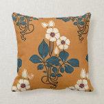 Art Nouveau Design #7 Throw Pillows