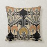 Art Nouveau Design #7 @ VictoriaShaylee Throw Pillows
