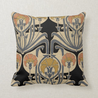 Art Nouveau Design #7 @ VictoriaShaylee Throw Pillow