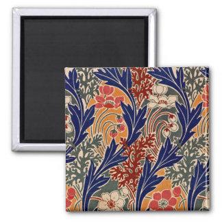 Art Nouveau Design #8 at Emporio Moffa 2 Inch Square Magnet