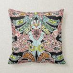 Art Nouveau Design #8 Throw Pillow