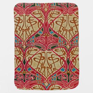 Art Nouveau Design #9 at Emporio Moffa Baby Blanket