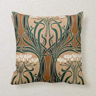 Art Nouveau Design #9 Throw Pillow