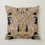 Art Nouveau Design #9 @ VictoriaShaylee Throw Pillows