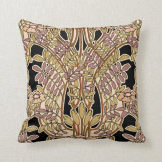 Art Nouveau Design #9 @ VictoriaShaylee Throw Pillow