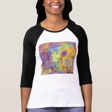 """__apples__boutique_ """"Art Nouveau""""Design Shirt"""