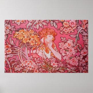 Art Nouveau design Value Poster Paper (Matte)