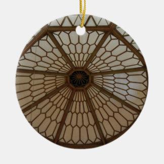 Art Nouveau Dome Ornament